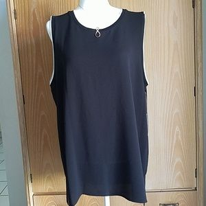 Vince Camuto dressy tank, NWT size XL